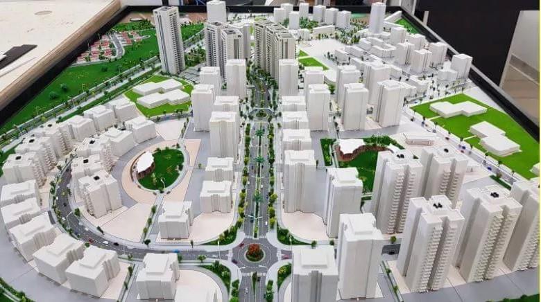 פארק בניינים מודל תלת מימד